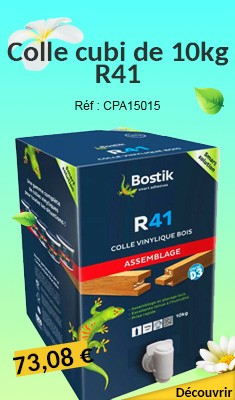 Colle BOSTIK cubi de 10kg R41 - 30603724
