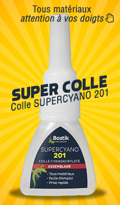 Colle SUPERCYANO 201 Tube 20 G - 30506100