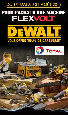 Opération Carburant Offert DEWALT