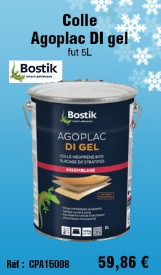 Colle Bostik Agoplac DI gel fut 5L - 30604789