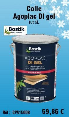 Colle Bostik Agoplac DI gel fut 5L - 30604789