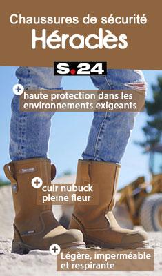 Chaussures de sécurité Héraclès S3 WR HI CI SRC S24 - T.39 - HERACLES S3-39