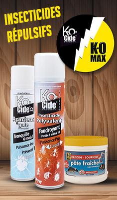 Insecticides - Répulsifs KoCide KoMax