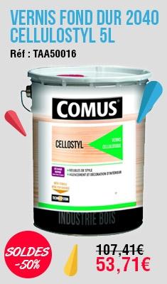 Vernis fond dur 2040 Cellulostyl COMUS SA - 5 L - 7746