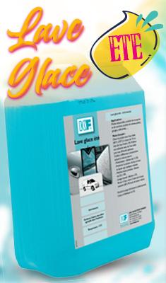 Lave-glace été parfumé KF SICERON - Bidon de 5L - 6860