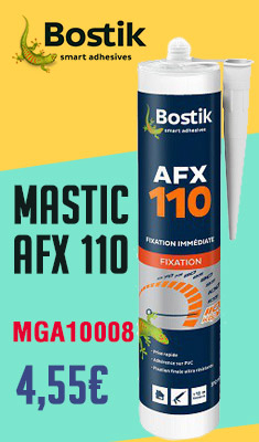 Mastic BOSTIK AFX 110 cartouche 310ml - 30607780