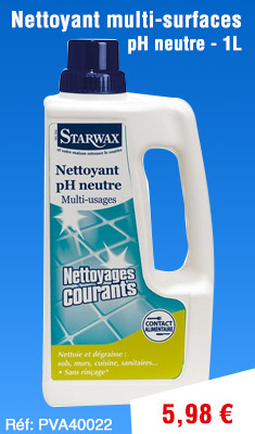Nettoyant multi-surfaces STARWAX pH neutre - 1L - 5162