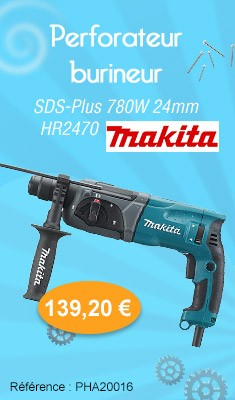 Perforateur-burineur SDS-Plus MAKITA 780W 24 MM - HR2470
