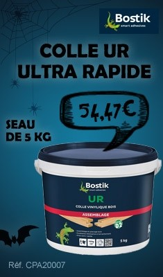 Colle UR ultra rapide BOSTIK Seau de 5 Kg - 3060662