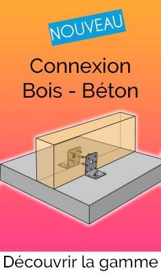 Connexion Bois - Béton