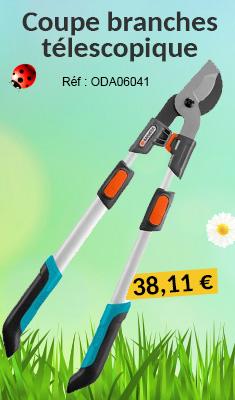 Coupe branches télescopique GARDENA 650BT Comfort - Bras en aluminium - 8779-20