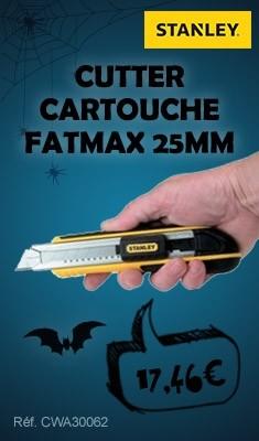 Cutter cartouche Fatmax 25mm