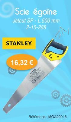 Scie égoïne STANLEY Jetcut SP - L.500 mm - 2-15-288