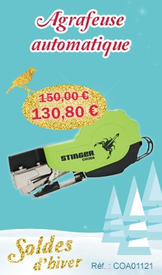 Agrafeuse automatique STINGER - 136401