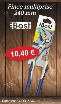 Pince multiprise BOST - 240 mm - 115496