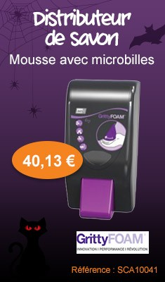 Distributeur de savon GrittyFoam