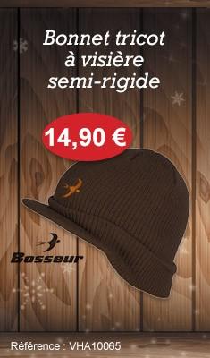 Bonnet à visière Taille unique - BOSSEUR - 7530