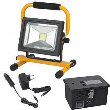 Projecteur portable LED CHIP 20W BRENNENSTUHL Sur batterie rechargeable - 1171260201