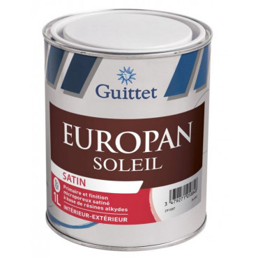 Peinture Europan Soleil Satin GUITTET - 572