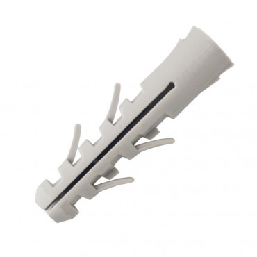 Boîte de 50 pièces Cheville nylon Classik SCELL-IT - Ø 10 x 50 mm pour vis 6-8 - DS10