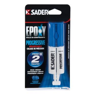 Sader époxy bi-composants progressive seringue de 25 ML BOSTIK - 30601297