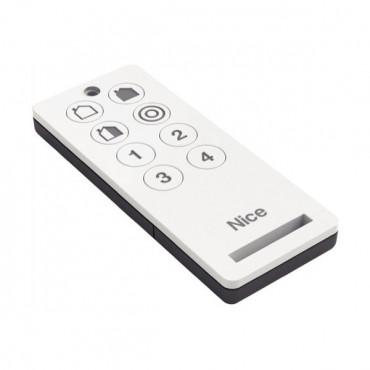 Télécommande NICE 8 Canaux  (4 Alarmes + 4 Aautomatismes) - HSTX8