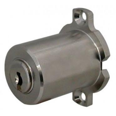 Cylindre KABA Expert monobloc - t/fichet 571 - nickelé - 4 clés panzer - 5.DZ508.100.571.NI