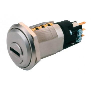 Batteuse contacteur micro rupture NC 262S MULT-T-LOCK + 3 clés Ø 22mm NO/NF - 85574017