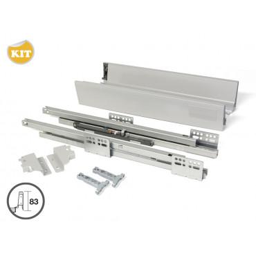Kit complet coté tiroir Vantage EMUCA - 450mm - 4196225