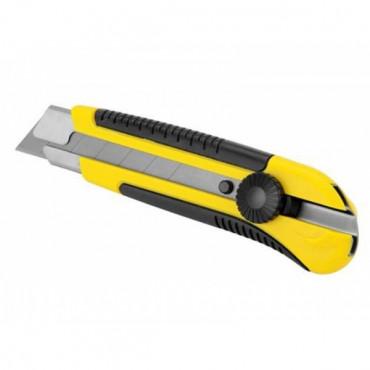 Cutter bi-matière à mollette STANLEY 25 mm - 1-10-425