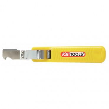 Couteau à dégainer pour câbles de 8-28mm KS TOOLS - 907.2184