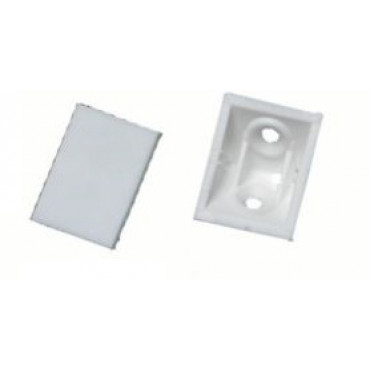 Taquet + Couvercle 01C blanc PRUNIER - Boite de 100 - STBS01C