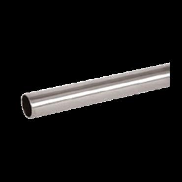 Tube d'agencement inox satine Ø16 mm - 3ml