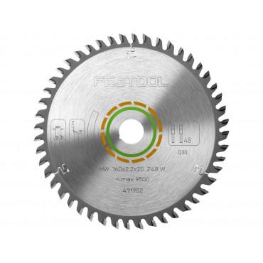 491952 Lame de Scie Circulaire D. 160 mm - 48 dents