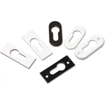 Rosace adhésive clé i GOETTGENS Alu noir - 3 mm - D4015NOIR
