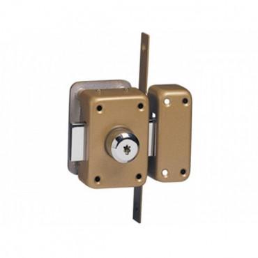 Verrou de haute sûreté ISEO Cavith A2P - 2 entrées - 14030001