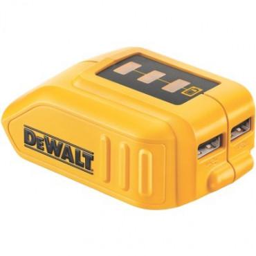 Adaptateur et chargeur DEWALT USB compatible batterie XR - DCB090
