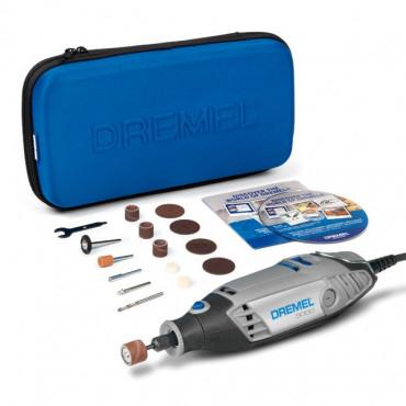 DREMEL 3000 130W Avec 15 Accessoires + Trousse zipée - F013 3000 JA