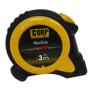 Mètre à ruban CORP Max Grip Visio 2 magnétique 3 m x 16 mm - 43600816