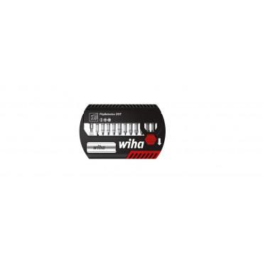Coffret d'embouts WIHA Flipselector  ZOT mixte 13 pcs + Porte embout universel + attache ceinture - 39050