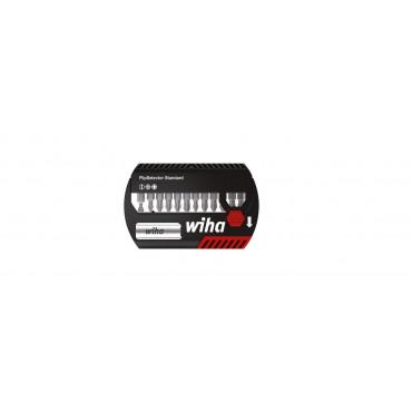 Coffret d'embouts WIHA Flipselector Standard mixte 13 pcs + Porte embout universel + attache ceinture - 39049