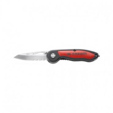 Couteau à cran d'arrêt FACOM manche bi-matière - 840.F