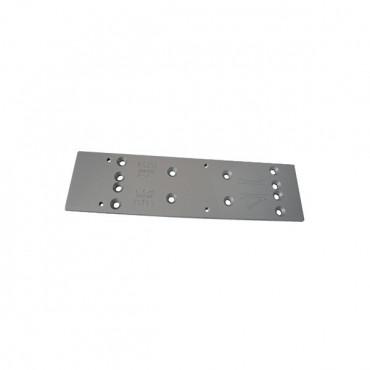 Plaque de montage pour TS83 DORMA - Argent - 38000101