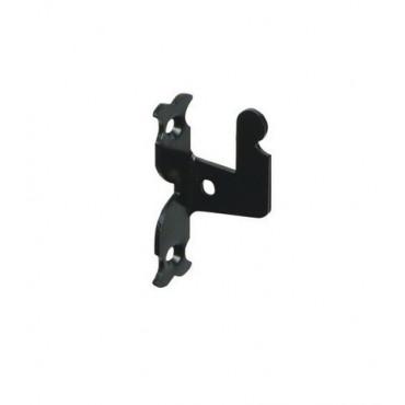 Support rustique TORBEL cataphorèse noir pour espagnolette - 752254