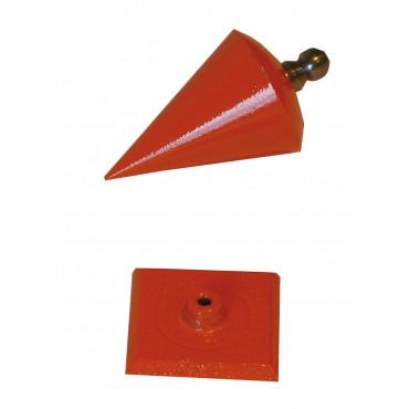 Plomb toupie MOB 500 gr  - 815180