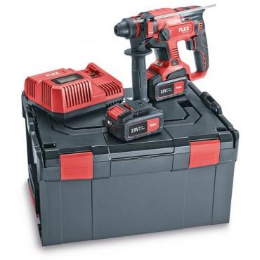 Perforateur burineur CHE 18.0-EC Set 5,0 Kit power FLEX en L-Boxx - 461768
