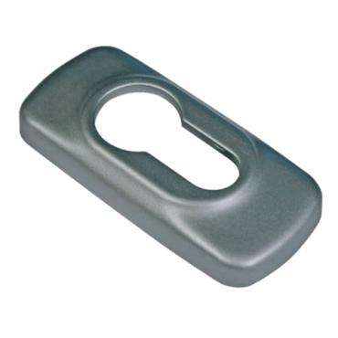 Rosace cylindre antivol 2100B FAPIM - Bronze 8019 - 2100B_43