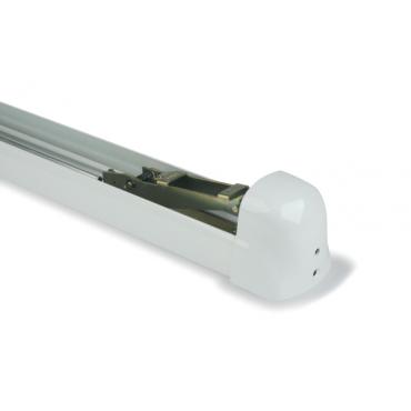 Support central de barre antipanique Panama Push 8240i FAPIM - L.935 mm - blanc 9010 - 8240i_32