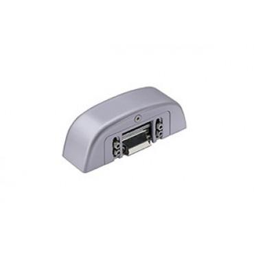 Gâche électrique d'ouverture avec anti-répéteur gris 9006 - FAPIM - 8520