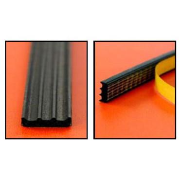 Joint d'étanchéité EPDM 141 KISO - 9x3 mm - Noir - Rouleau 150 mL - 1413x9BR